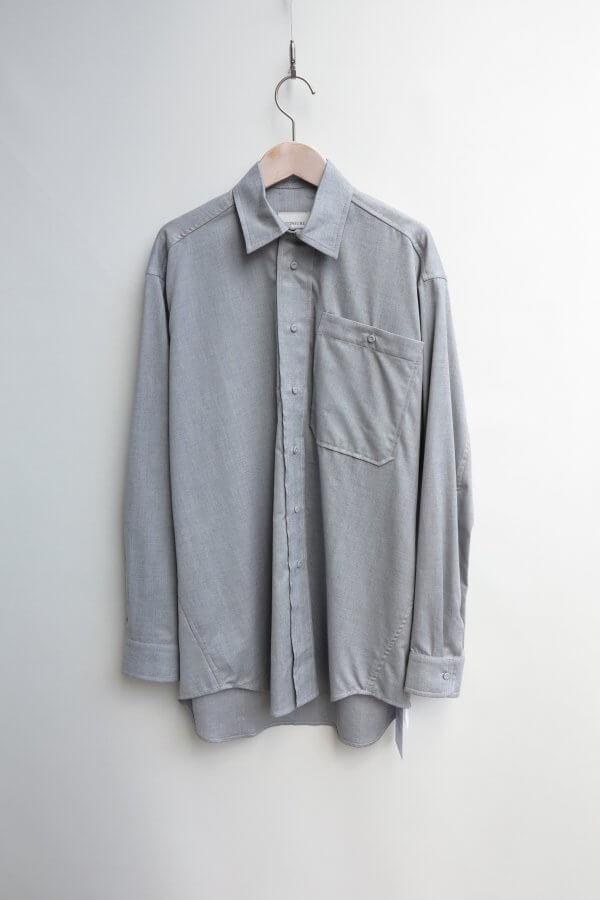 Oversize Shirt (Herringbone)