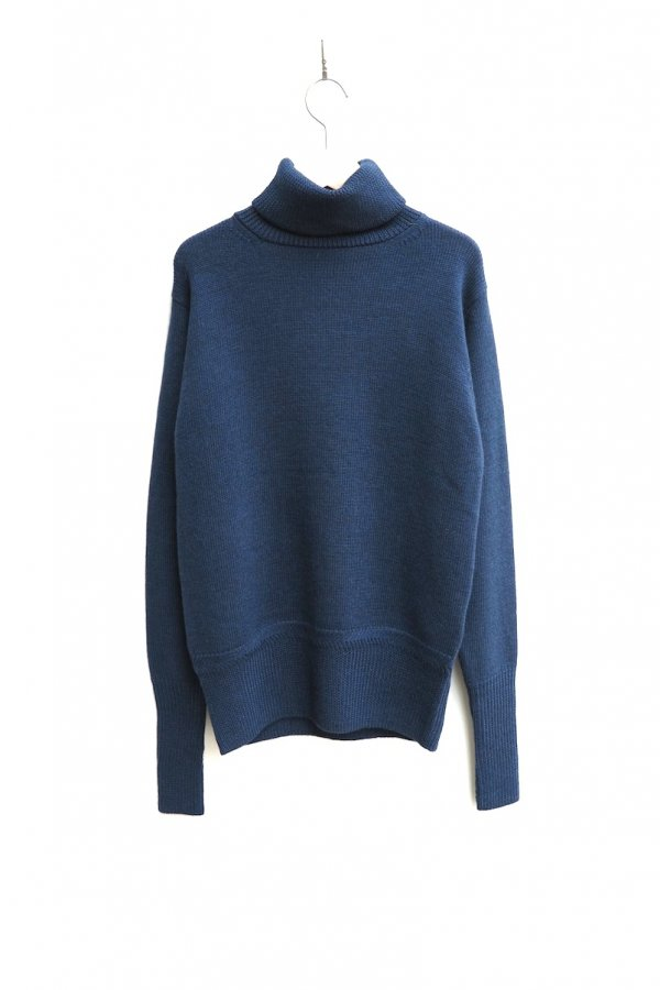 TURTLE NECK KNIT – SOFT WOOL MIDDLE GAUGE KNIT