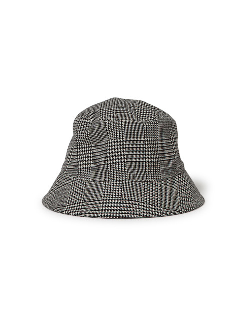 TROOPER HAT WOOL GREN CHECK WITH WINDSTOPPER® 2L