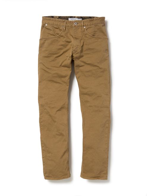 DWELLER 5P JEANS COTTON TWILL OVERDYED