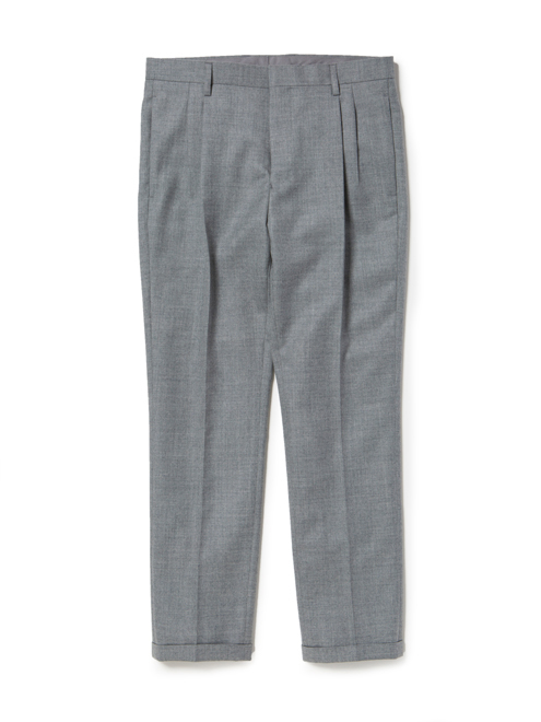 DWELLER TIGHT FIT SLACKS WOOL TWILL