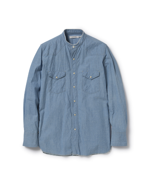 RANCHER SHIRT COTTON CHAMBRAY