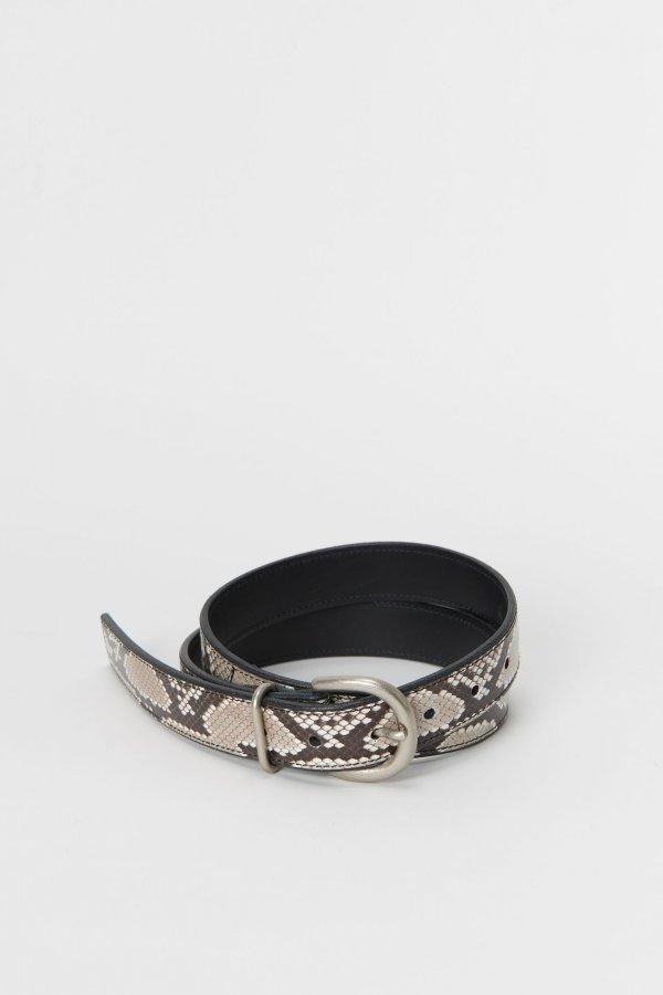 python tanning belt
