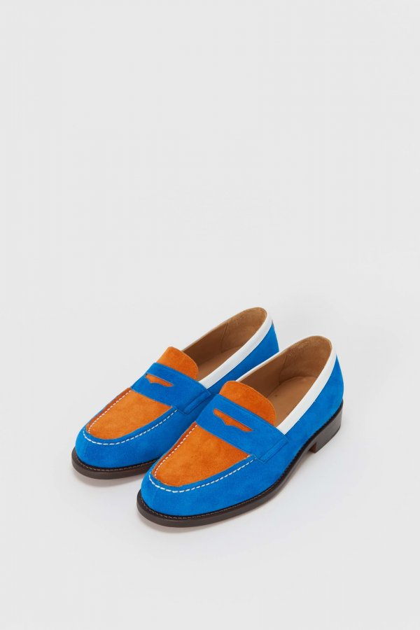 typical color exception loafer