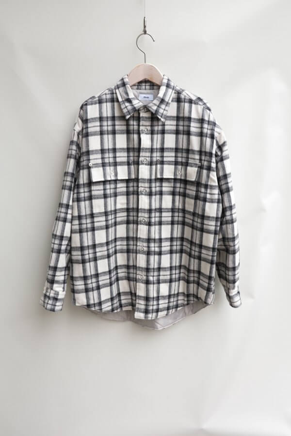 FLANNEL QUILTING CHECK SHIRT