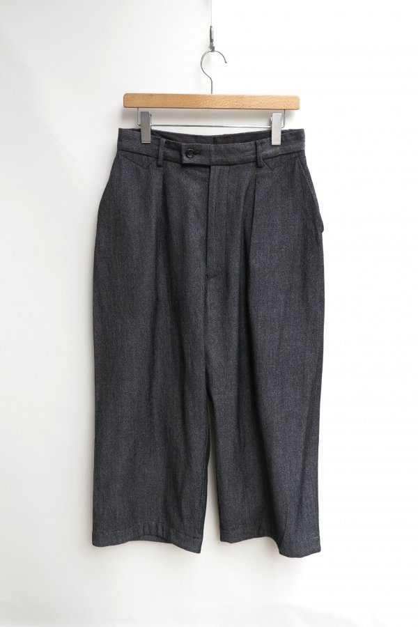 W/C  SIDE DIRTS POCKET WIDE PANTS