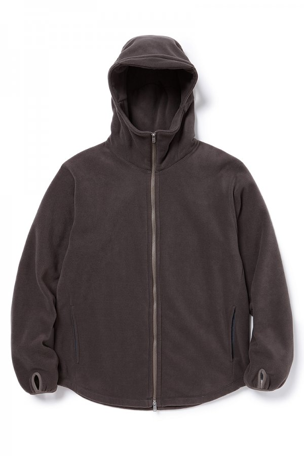 CYCLIST FULL ZIP HOODY POLY FLEECE POLARTEC®