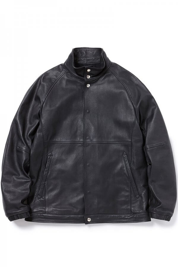COACH JACKET COW LEATHER