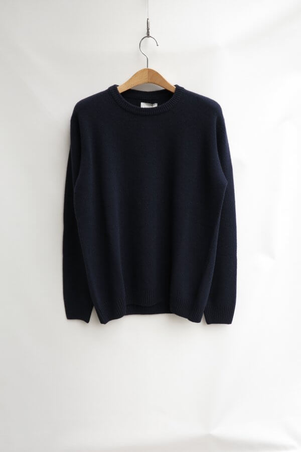 Crewneck in Washed Lambswool