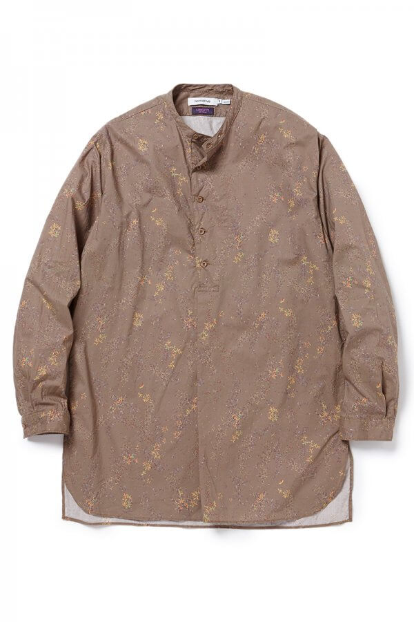 SCIENTIST PULLOVER LONG SHIRT COTTON LAWN LIBERTY® PRINT