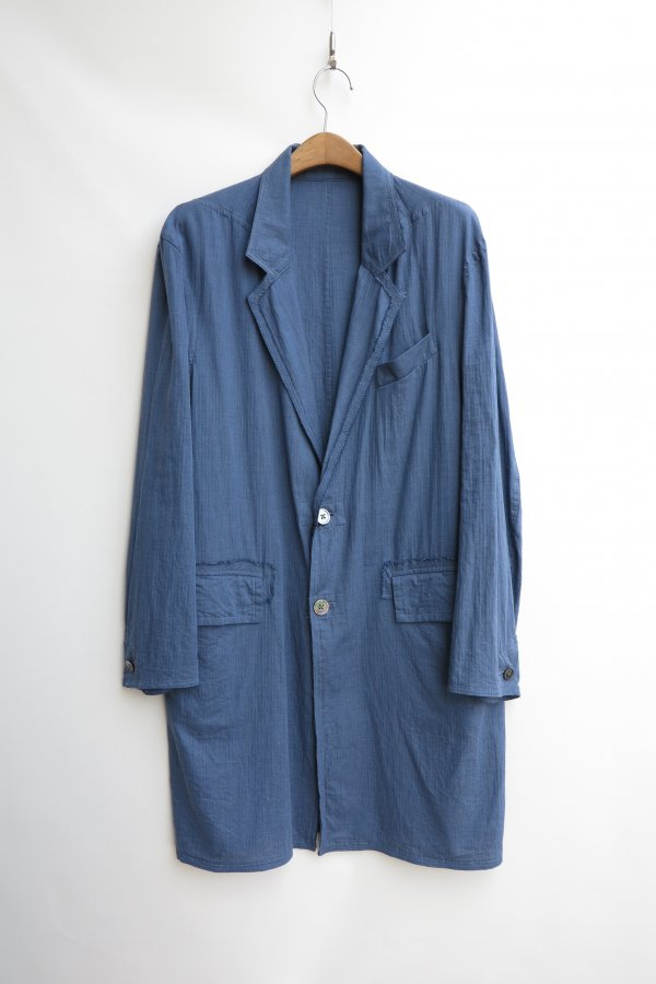 FLANNEL UNLINED COAT (ALBINI)