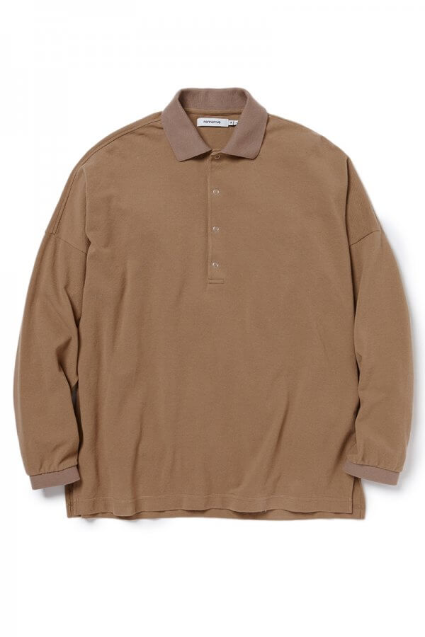CLERK POLO L/S TEE COTTON PIQUE