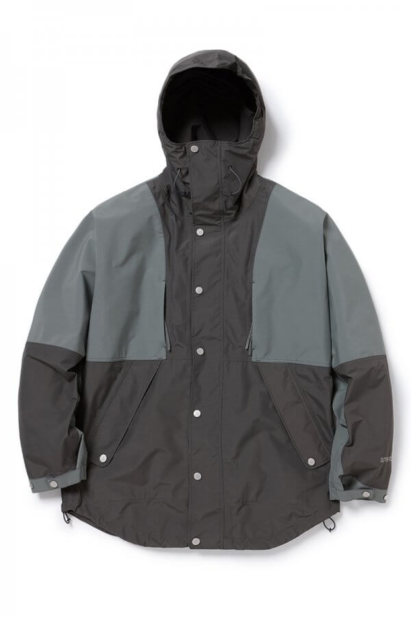 HIKER HOODED JACKET POLY TAFFETA WITH GORE-TEX® 2L
