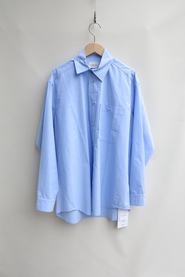 Oversize shirt – Light Blue