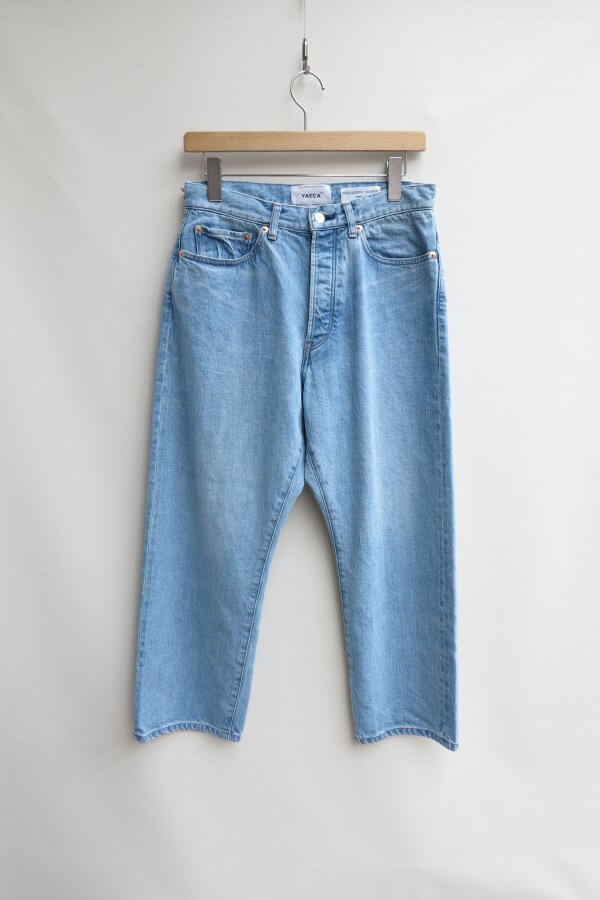 DENIM WIDE CROPPED (USED)