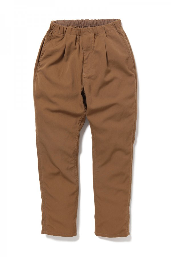 DWELLER EASY PANTS RELAX FIT WOOL TWILL