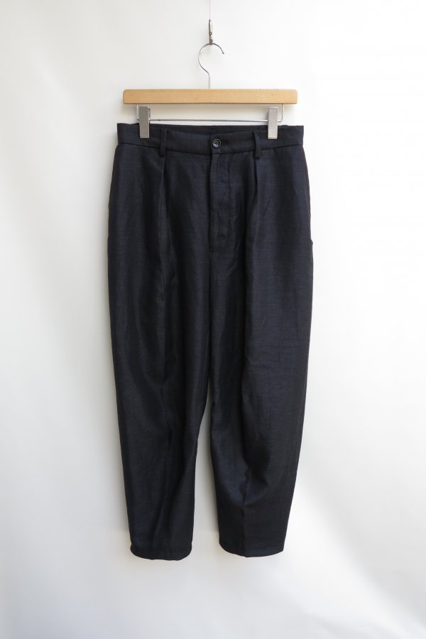 SLEEVE PATTERN CUTTED TAPERED TROUSERS (W/H)