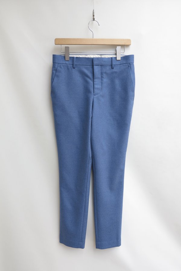 FLANNEL SLIM PANTS