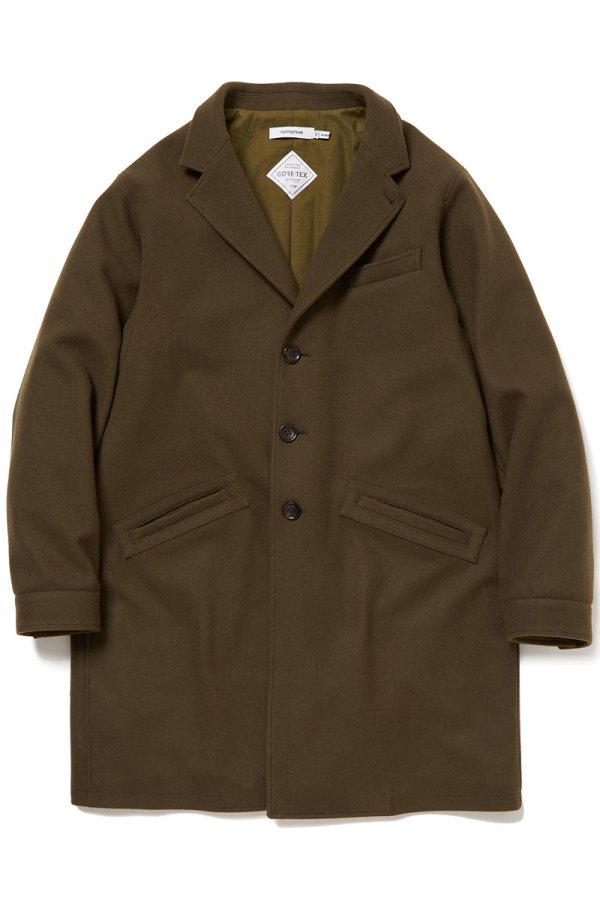 PORTER COAT LAMB WOOL MELTON WITH GORE-TEX INFINIUM™