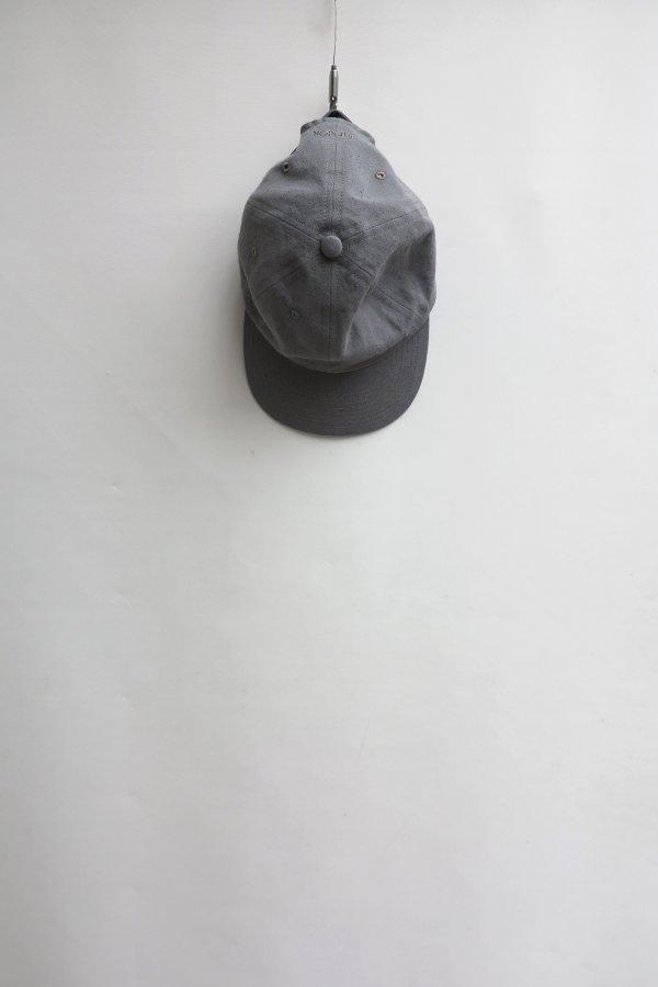 TWISTED CHAMBRAY GABARDINE 6 PANELED CAP