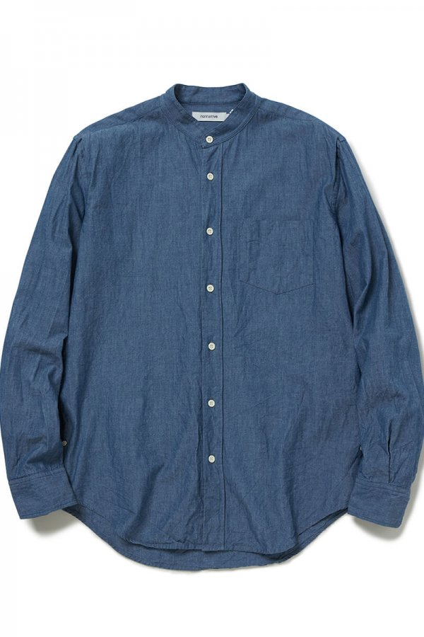 OFFICER SHIRT COTTON CHAMBRAY