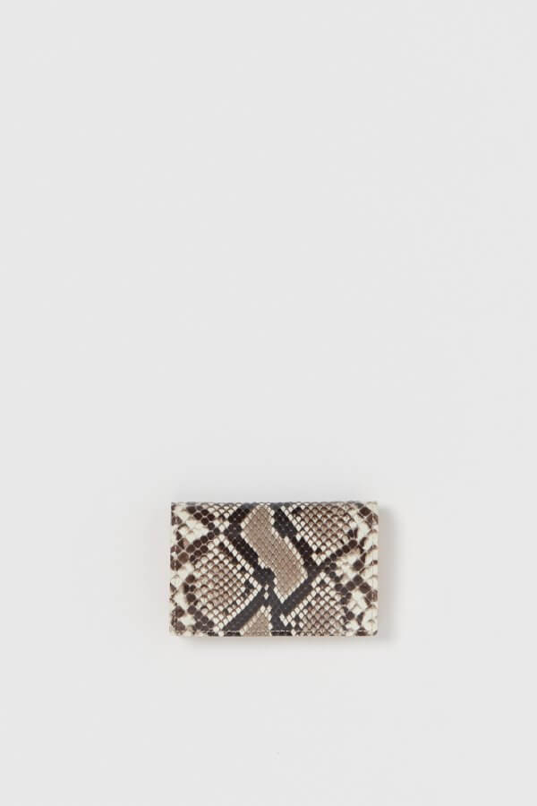 python folded card case
