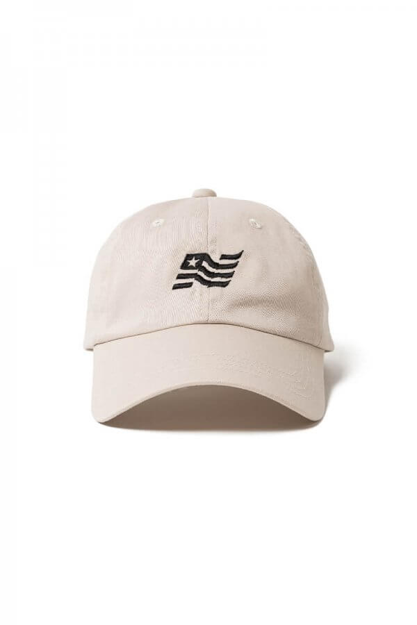 "DWELLER 6P CAP ""FLAG"" COTTON TWILL"