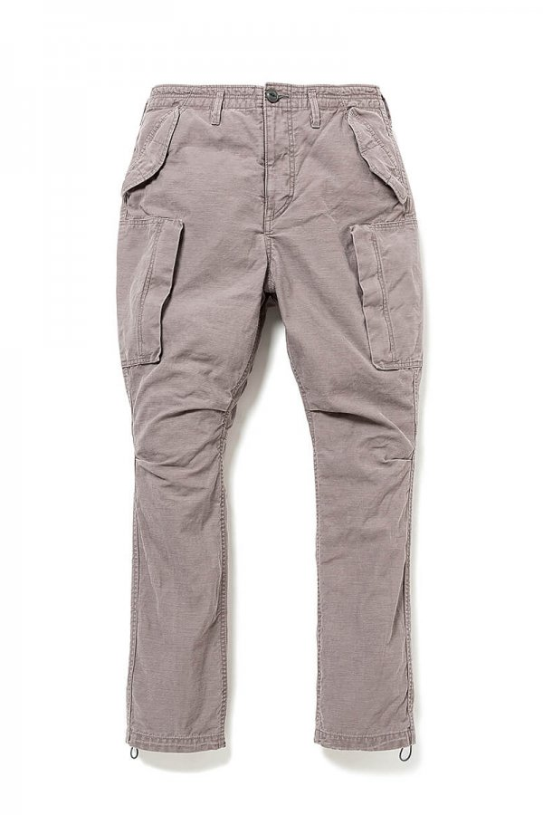 TROOPER 6P TROUSERS RELAXED FIT COTTON BACK SATIN