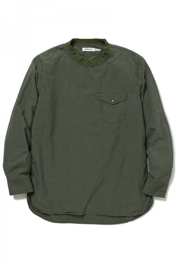 COACH PULLOVER SHIRT COTTON TYPEWRITER