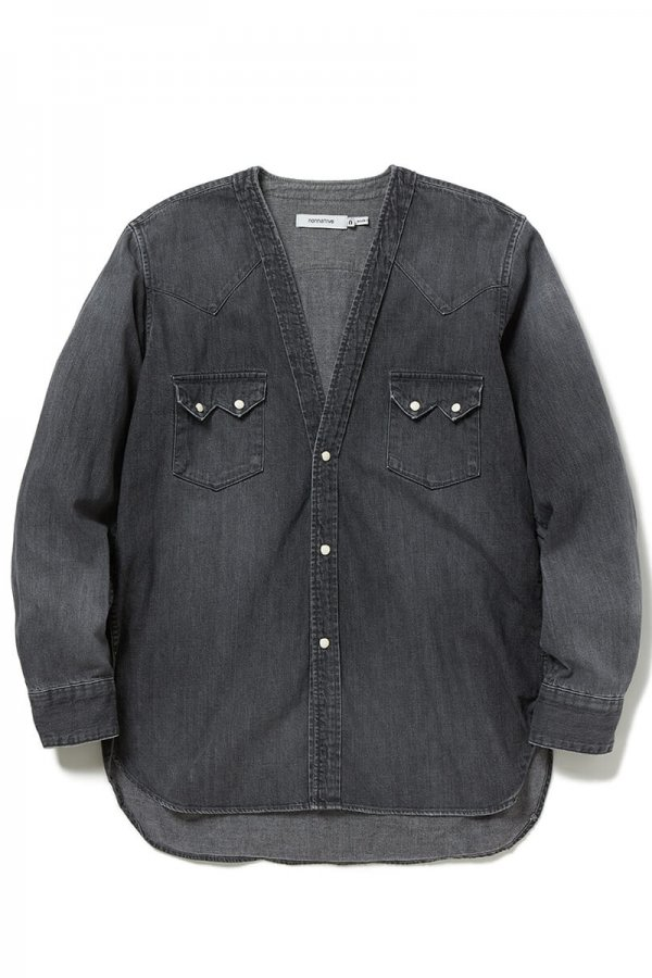 RANCHER SHIRT JACKET COTTON 8oz DENIM VW DARK