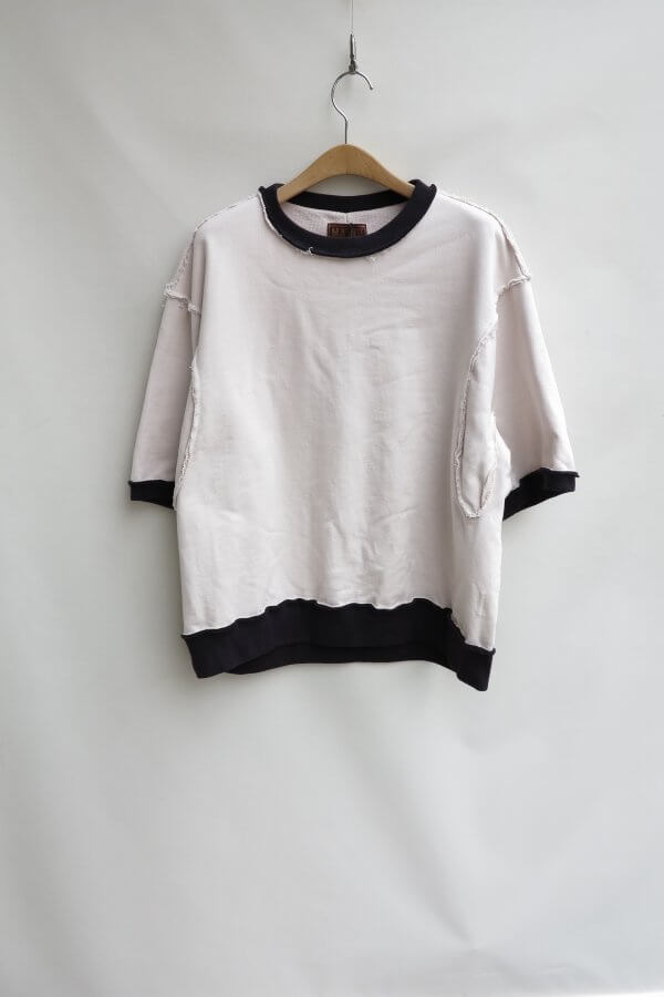 THUMS ARMHOLE TWO TONE SWEAT