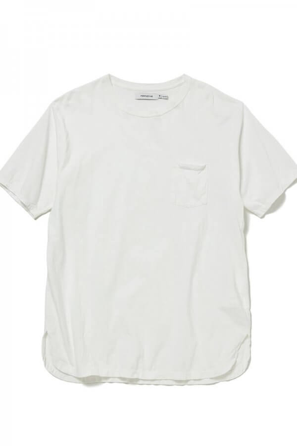 DWELLER S/S TEE COTTON JERSEY OVERDYED