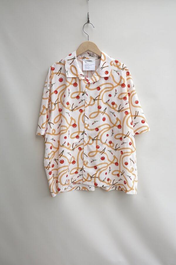 Open Collar S/S Shirt1(Hermès)