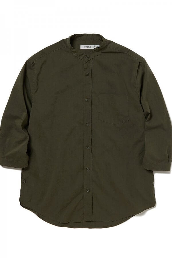 OFFICER SHIRT Q/S RELAXED FIT P/L WEATHER STRETCH COOLMAX®