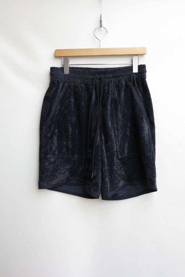 LINEN VELVET 2SEAM SHORT PANTS
