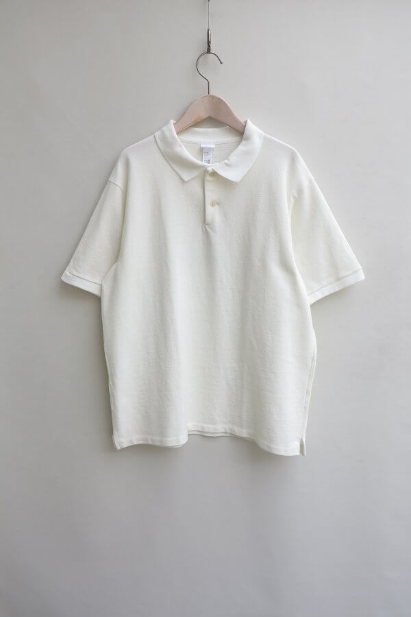 COTTON RIB POLO SHIRT S/S