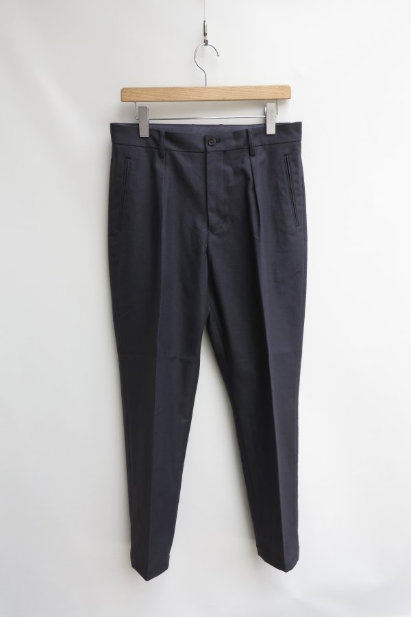 In Tuck Cotton Serge Trousers