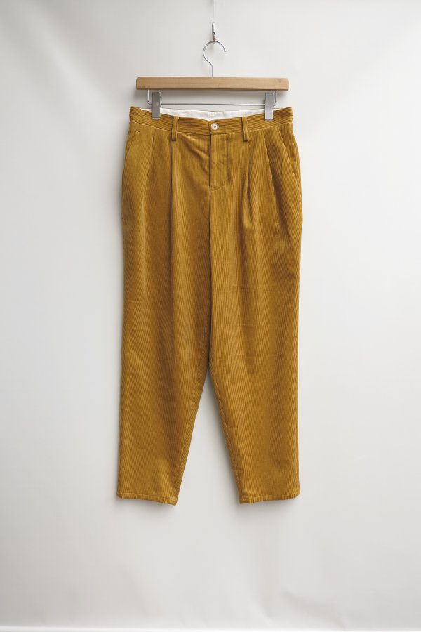 2Tuck Tapered Pants2(Corduroy)