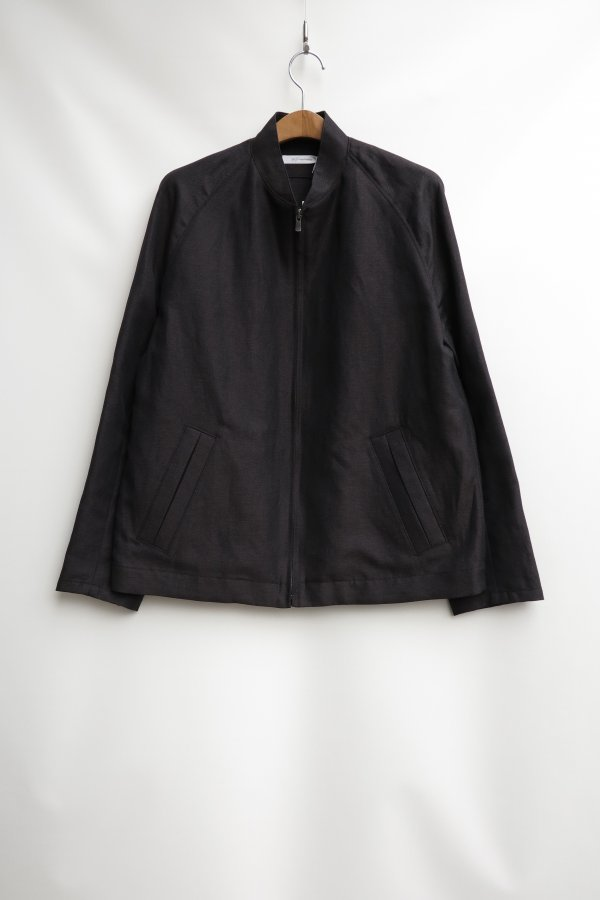 W/Li Chambray Twill Flight Jacket
