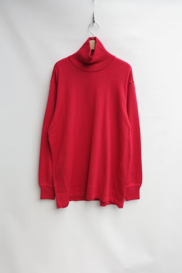 Knit&Sewn Polo Neck