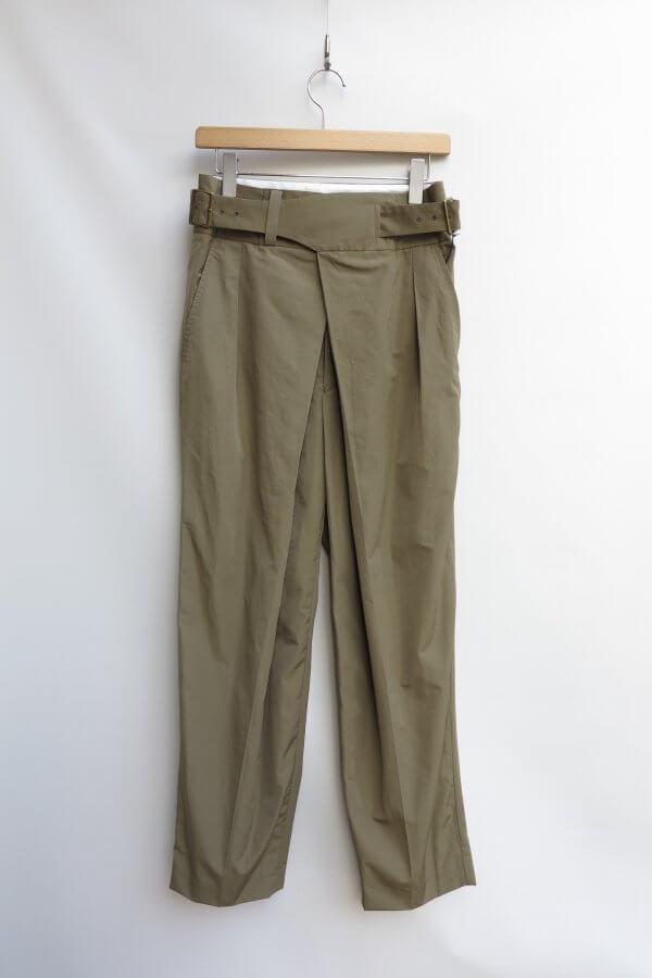 Ny/C Double Front Gurkha Pants