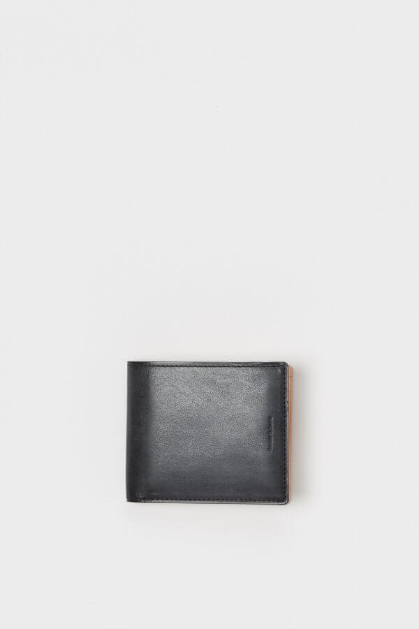 half folded wallet