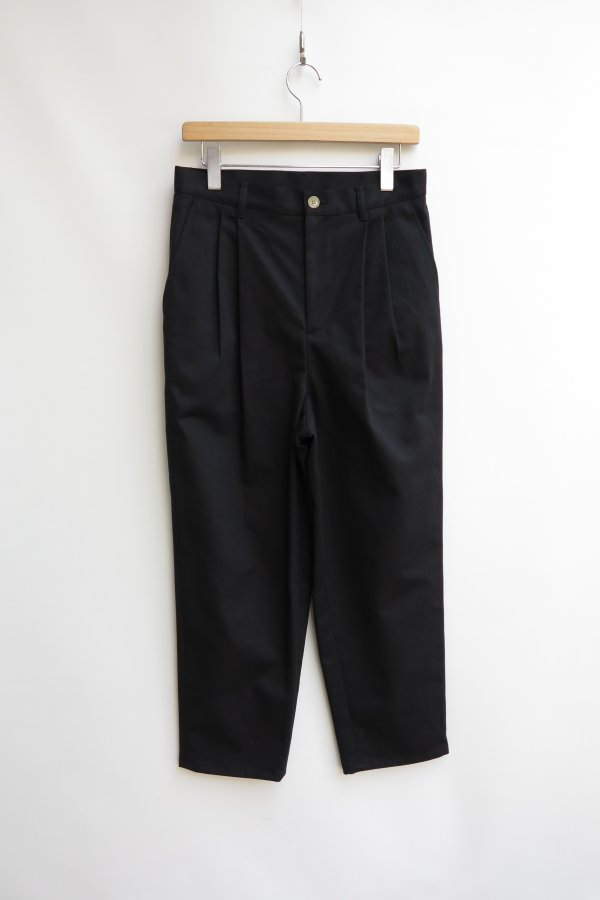 2Tuck Tapered Pants1(Cotton)