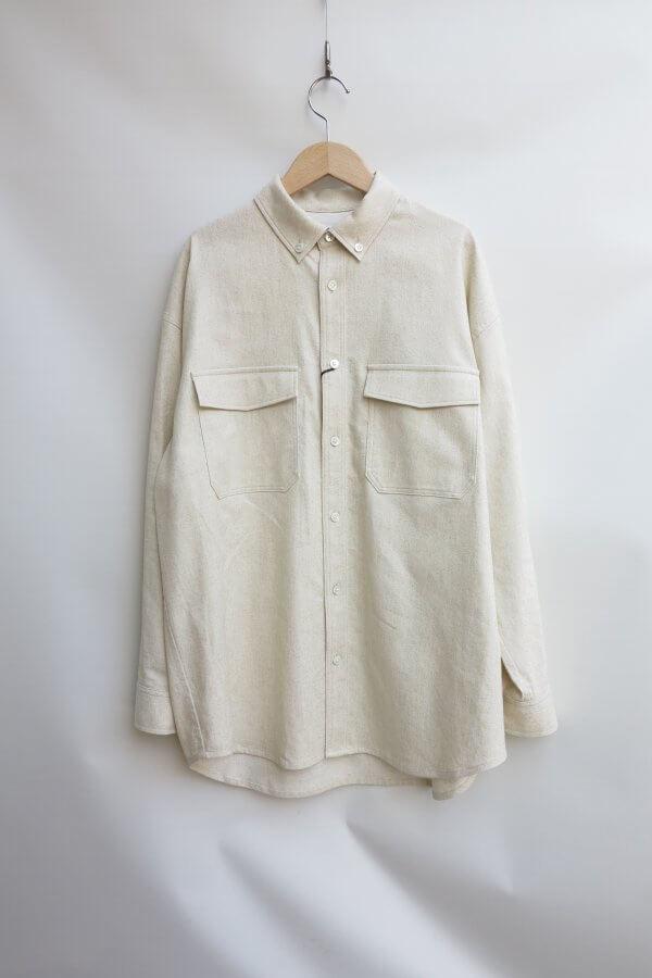 Loose CPO Shirts Jacket B