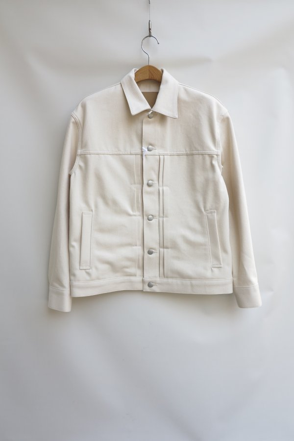 Denim Blouson -natural-