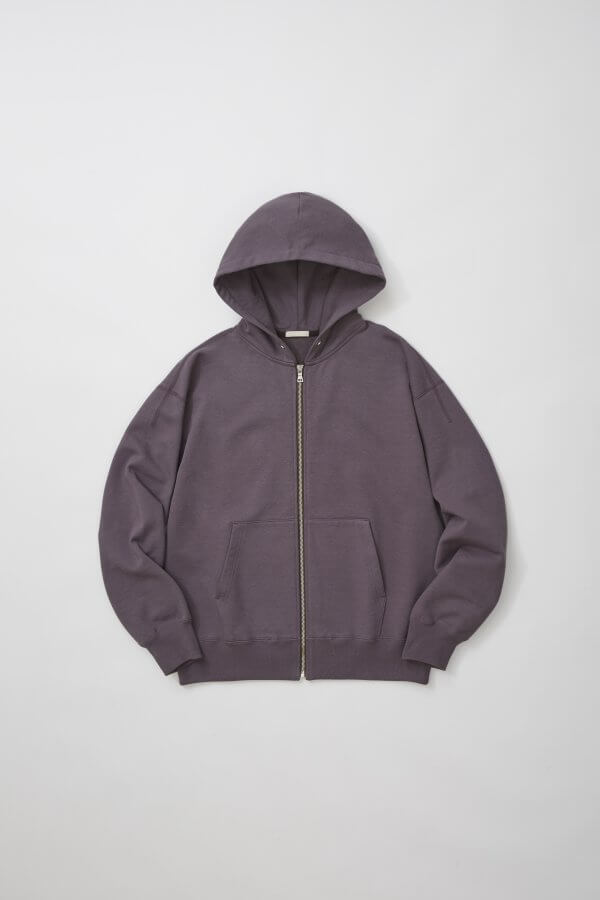DRY FEEL SILKY TERRY ZIP UP PARKA