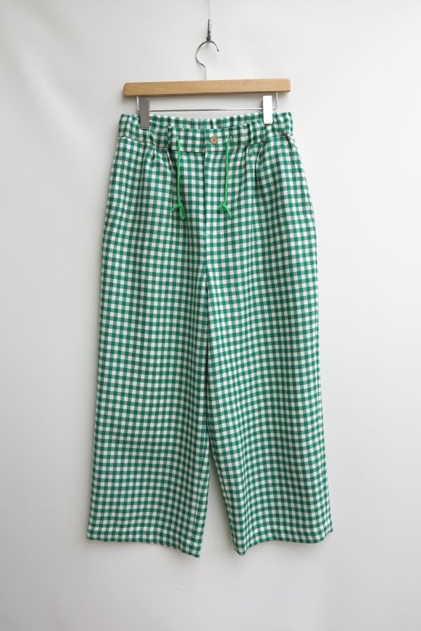 Gingham Easy Pants