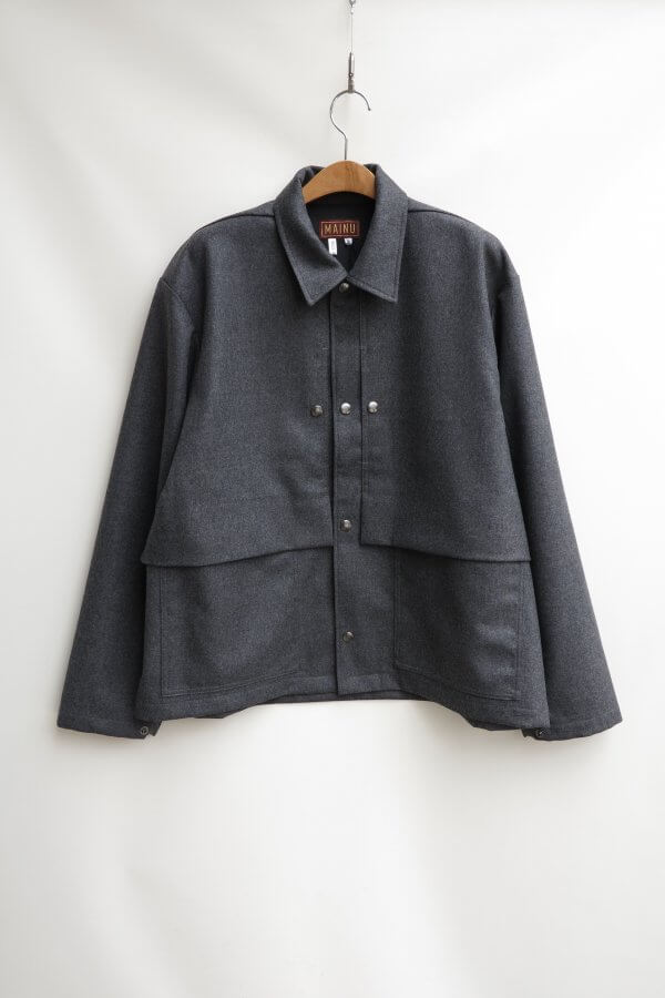 Wool Flannel Coveralls