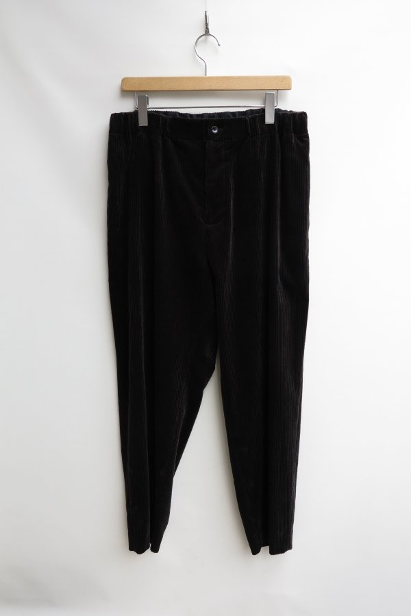 SUVIN CORDUROY TAPERED EASY PANTS