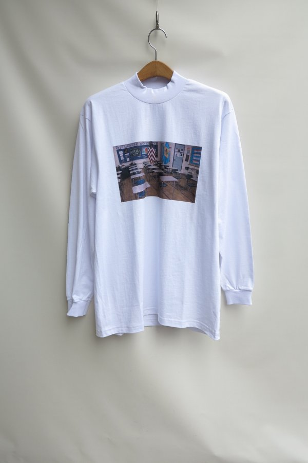 Mock Turtle L/S Tee(ready-made) ink jet printing
